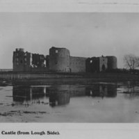 Roscommon Castle (from Lough Side)
